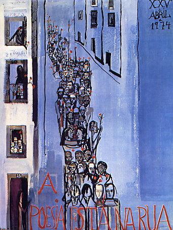 A poesia está na rua - Vieira da Silva